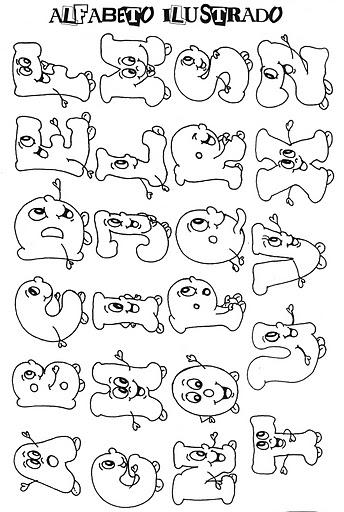 Alfabeto ilustrado infantil - Literas divertidas para ninos ...