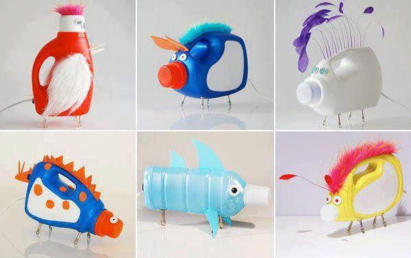 DIY Plastic Bottles Toys
